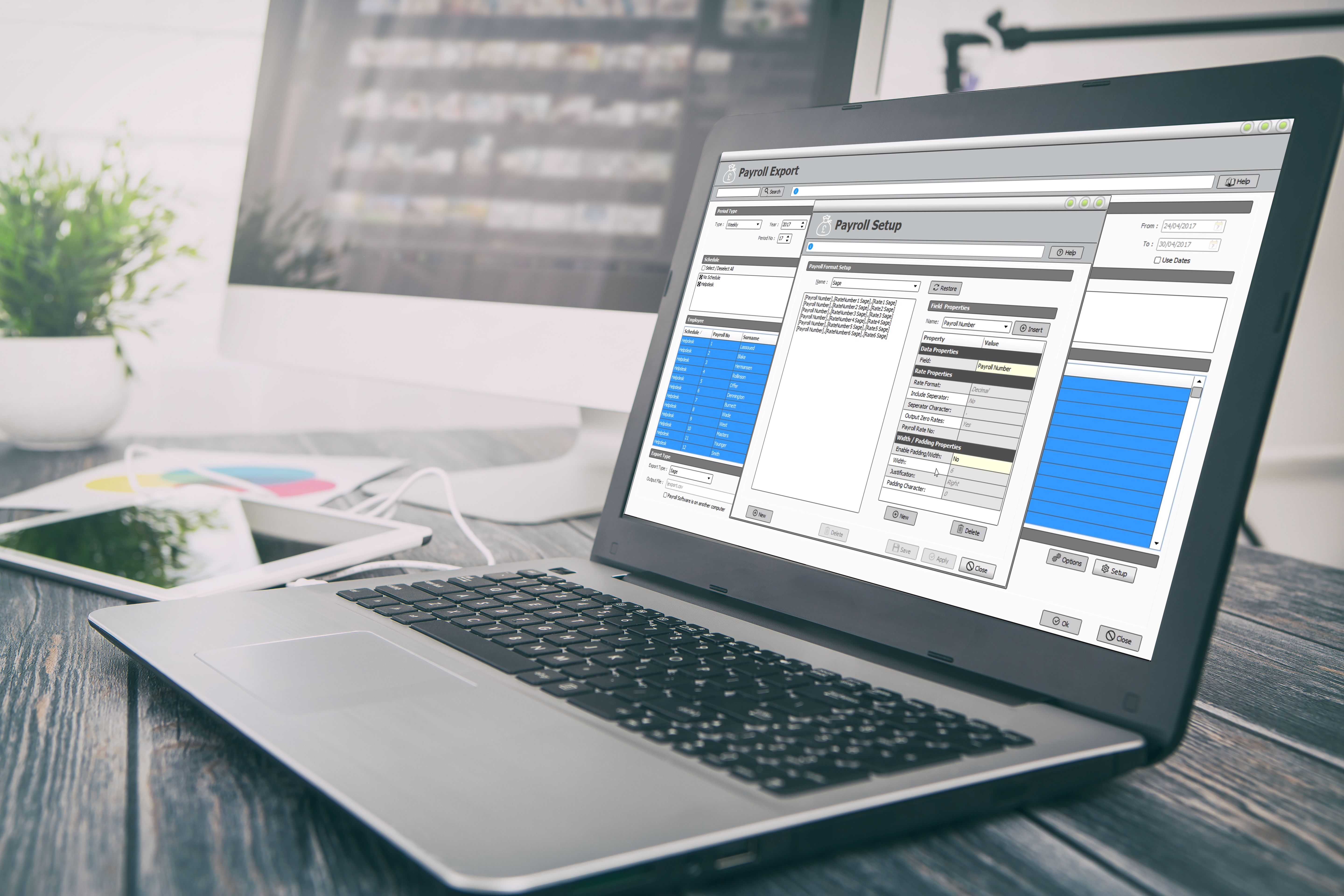 clocking systems compatible with sage payroll