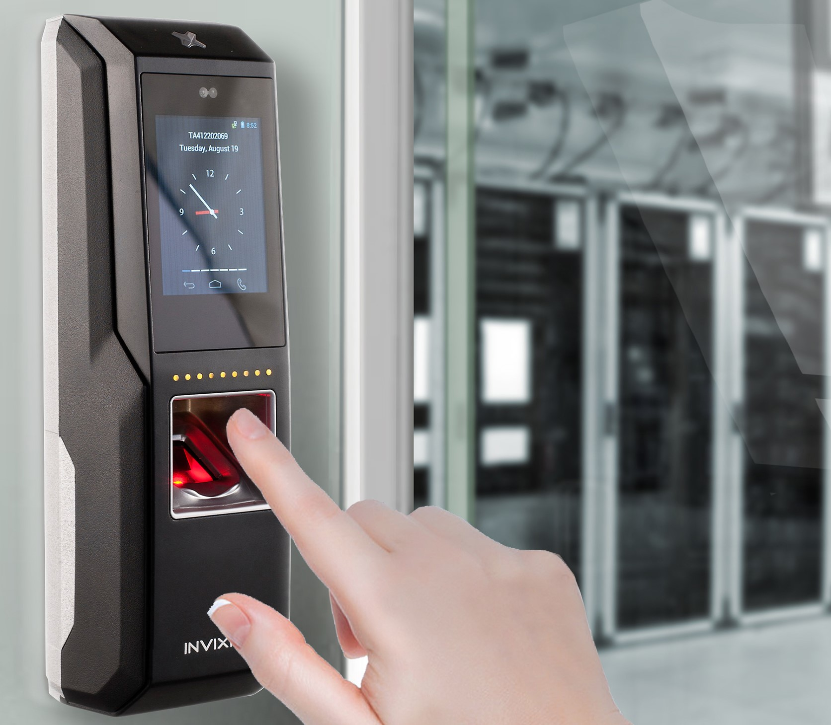 Biometric Access control security systems | Computime UK