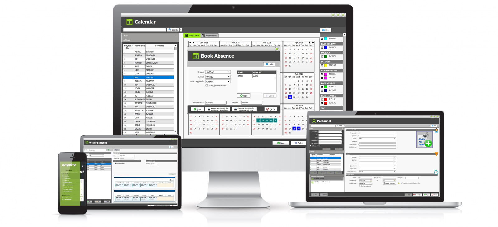 Computime UK | Time and Attendance Software