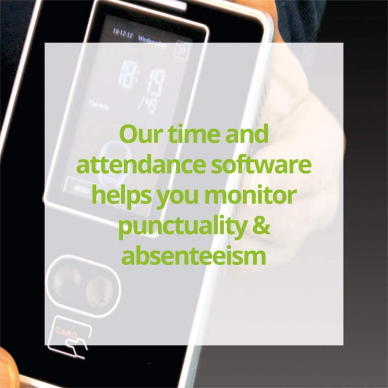 Our time and attendance software helps you monitor punctuality & absenteeism - Computime UK